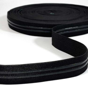 elastico-2-filetes-silicone--preto-ciclismo
